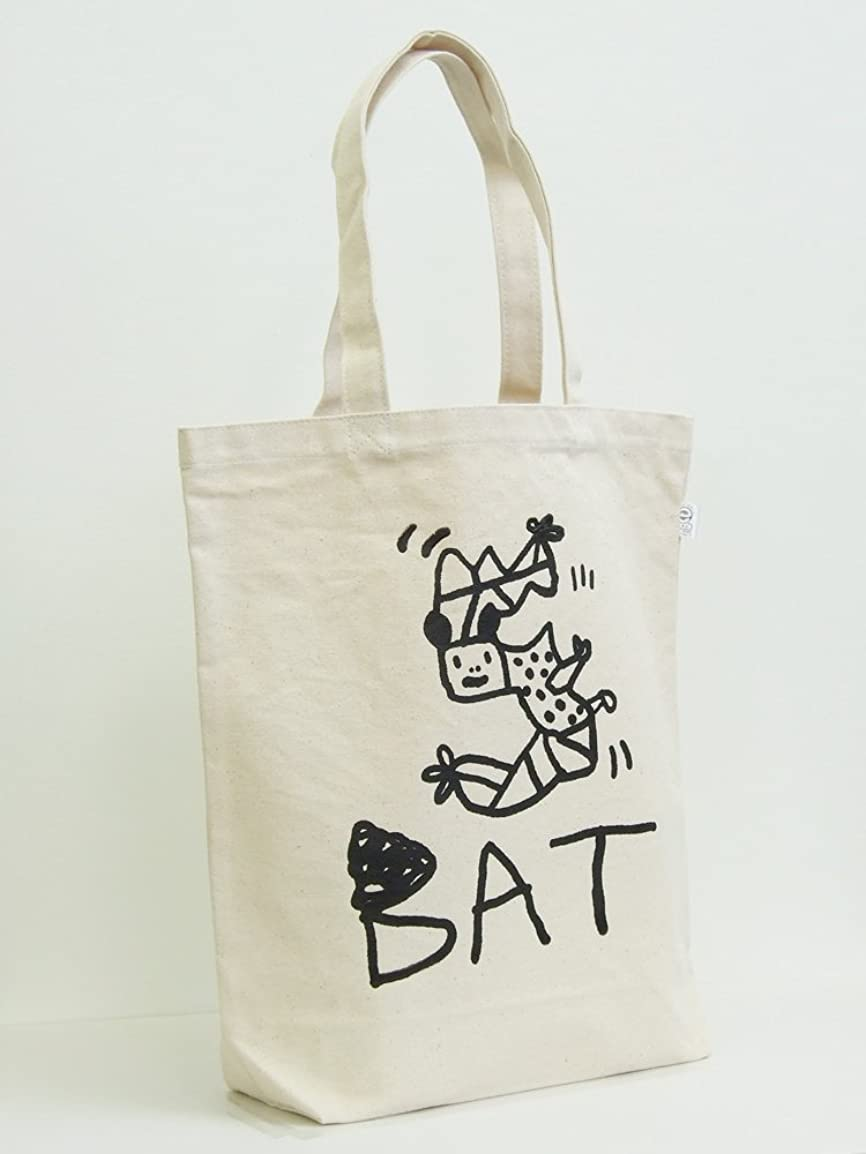 砦破産クライマックス小西慎一郎 モノクロアニマルトートバッグ/〔5〕BAT