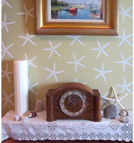 Starfish Wall Stencil – for High quality Max 46% OFF Stencils Walls Nautical