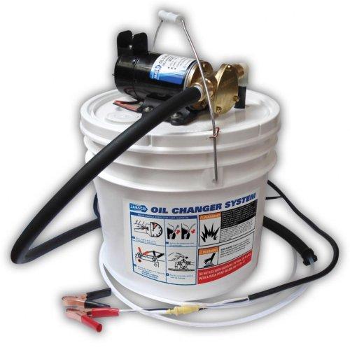 Jabsco 17800-2000 Marine Porta Quick Oil Changer, Flexible Impeller Pump, Reversing Switch 3.5 Gallon, 12-Volt, Non CE, White