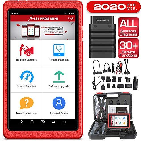 LAUNCH Pros lanzamiento X431 mini WiFi + Bluetooth OBD2 lector, escáner de diagnóstico del coche para sistemas completos con actualizaciones 2 años gratis 11 Especial F