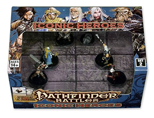 Pathfinder Battles: Iconic Heroes Set 2