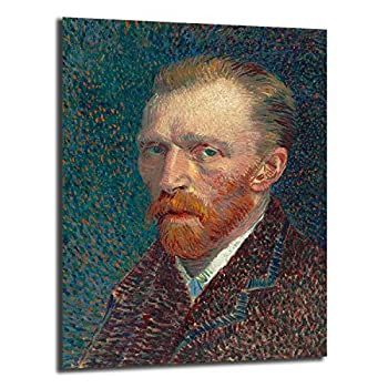 FireDeer Vincent Van Gogh Self Portrait Wall Art Canvas Posters Prints Painting Wall Pictures Artwork For Living Room Home Decor  No Frame,20x27 inch