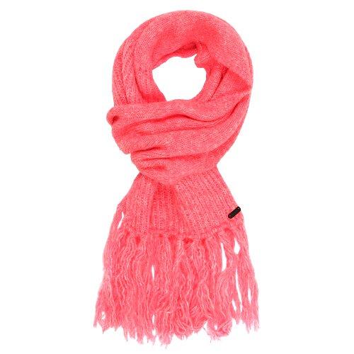 Bench Damen Mütze, Schal & Handschuh-Set Strickschal Lafs Scarf rosa (Pink) One Size