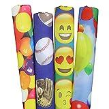 Designer Noodle Pool & Water Swim Noodle, Sports, Emojis, Gumballs, Balloons, 58' x 2.6'
