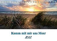Komm mit mir ans Meer (Tischkalender 2022 DIN A5 quer): Impressionen entlang der Ostsee (Monatskalender, 14 Seiten )