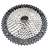 FYLYHWY Cassette MTB 8 9 10 11 12 Velocidad 32/36/40/42 / 46/40 / 52t Mountain Bicycle Freewheel Sprocket de Bicicleta para for Shimano Fit for SRAM Sunrace (Color : 10S 11 46T)