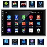 ANKEWAY Android 9,1 Radio de Coche 2 DIN Car Stereo 7 Pulgadas 1080P HD Pantalla Táctil+Llamadas Manos Libres Bluetooth+WiFi+Navegación GPS+Cámara de Visión Trasera+USB Doble+Reproductor de Internet