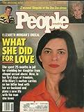 Elizabeth Morgan, Chris Burke, Zsa Zsa Gabor, Martha Graham, Gabrielle Reece - October 16, 1989 People Weekly Magazine