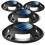 Home Zone Security Solar Deck Lights -...
