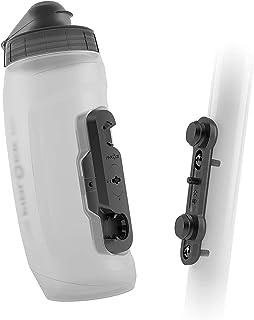Fidlock Twist Bottle Set 590ml Flessenhouder + bidon, trans.white