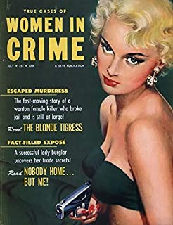 The Blonde Tigress - Femme Fatale Blondes of Pulp Magazines Cover Art - 24-Trading Cards