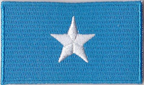 Flaggen Aufnäher Patch Somalia Fahne Flagge - 6 x 3,5 cm