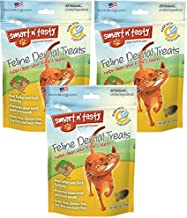 (Pack of 3) Smart n' Tasty Grain-Free Turducky All Natural Feline Dental Treats