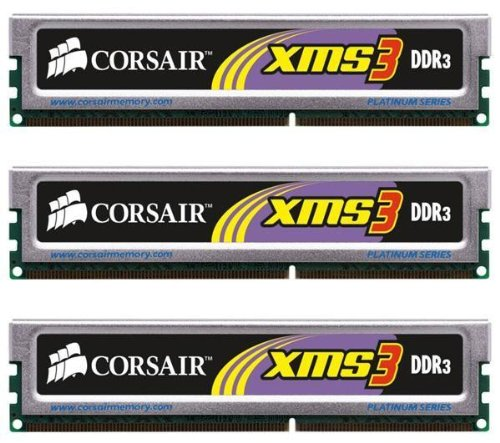 Corsair XMS3 6 GB (3x2GB) TR3X6G1333C9 DDR3 1333 MHz PC3-10667
