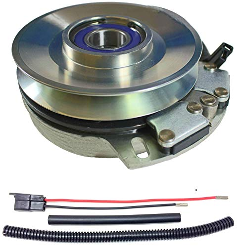 Xtreme Outdoor Power Equipment Bundle - 2 Items: PTO Electric Blade Clutch, Wire Harness Repair Kit. X0373 Replaces Warner 5219-69 Hustler PTO Blade Clutch - w/Wire Harness Repair Kit !