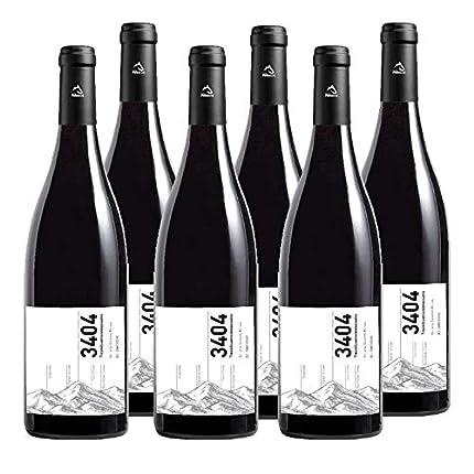 Vino tinto 3404 de 75 cl - D.O. Somontano - Bodegas Barbadillo (Pack de 6 botellas)