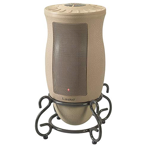 Lasko 6435 Designer Series Ceramic Oscillating Heater with Remote Control (Renewed) Heater Oscillating Space