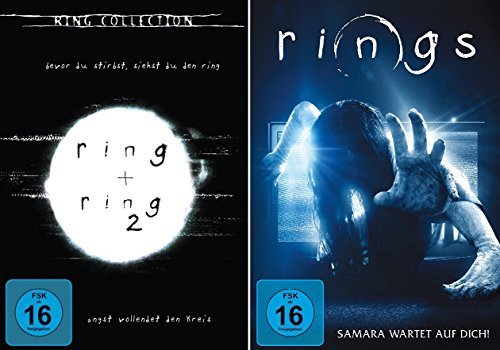 Ring 1/2 + Rings 3 im Set - Deutsche Originalware [3 DVDs]