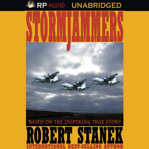 Stormjammers audiobook cover art