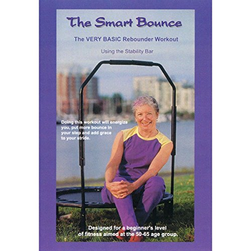 The Smart Bounce using the Stability Bar - Mini Trampoline Workout