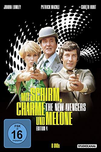 Mit Schirm, Charme und Melone - Edition 4 [8 DVDs]