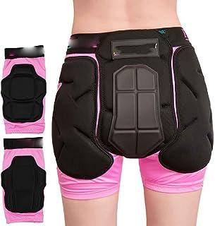 Gazechimp Pantalones Deportivo Cadera Protector 3D Acolchado Ciclismo Esqu/í Snowboard Skate Antideslizante