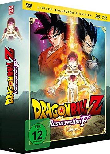 Dragonball Z: Resurrection 'F' - [3D-Blu-ray & DVD] Limited Edition