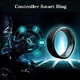 HMY Smart-Ring, Verschleiß Controller Multifunktionale Wasserdichter Bluetooth Ring Ohne Aufladung,...
