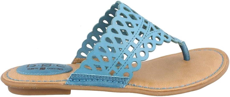 Born Concepts Women's B.O.C, Caree cute Thong Sandals DENIM blueE 7 M