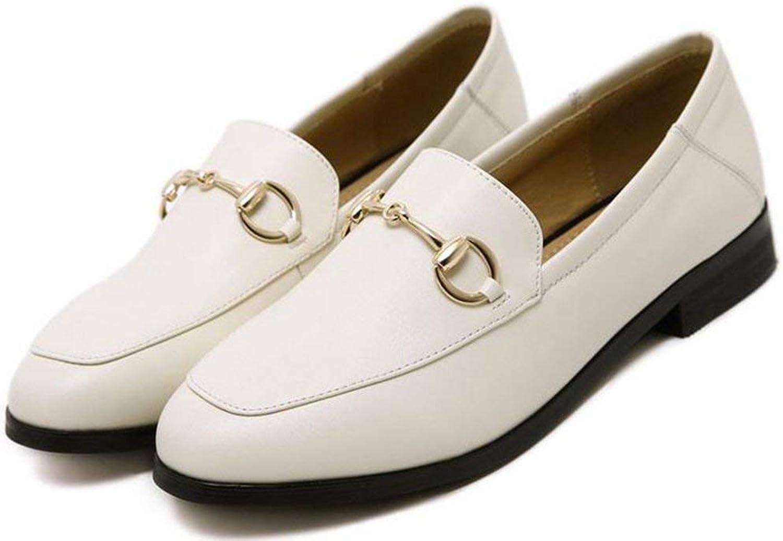Fuxitogo skor skor skor skor en pedalkjoker platt (färg  vit, storlek  36)  online försäljning