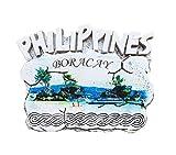 3D Boracay Kühlschrank Magnet, Philippinen Tourist Souvenirs, Tourist Attraction Kühlschrank Magnet, weiß Creative Home & Küche Dekoration, Förderung Geschenk