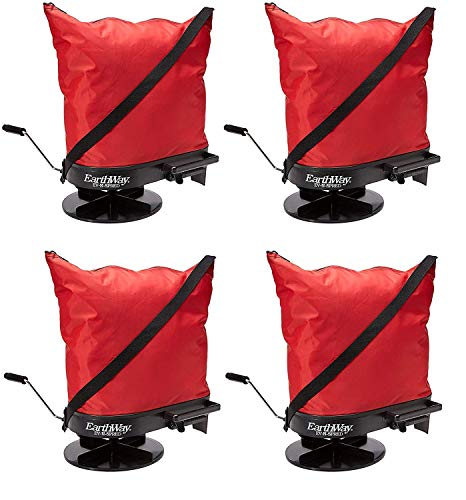 Best Prices! Earthway 2750 Hand-Operated Nylon Bag Spreader/Seeder, Perfect for Hilly and Wet Terrai...