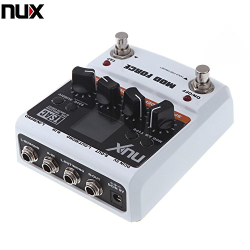 Twinbuys NUX MOD Force Multi Modulation Effects Dual Engine with Series/parallel Switchable