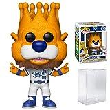 Funko POP! Sports MLB Mascots Kansas City Royals, Sluggerrr #13 Action Figure (Bundled with Pop Box Protector to Protect Display Box)