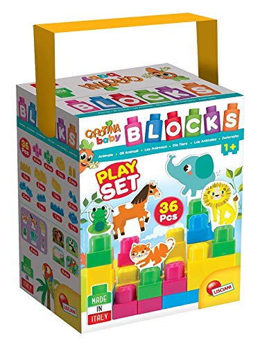 Lisciani Giochi, 72316, Carotina Baby, Spiel mit Bausteinen und Tieren