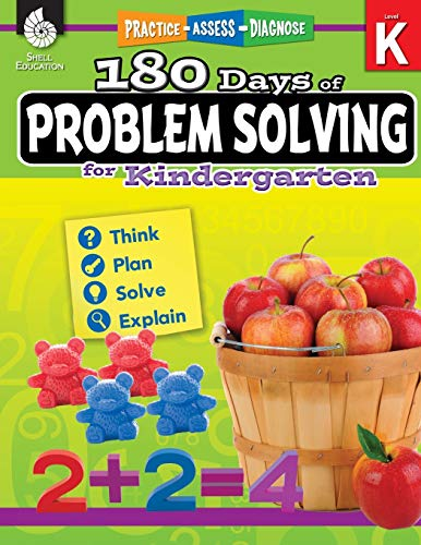 180 Days of Problem Solving for Kindergarten – Build Math Fluency with this Kindergarten Math Workbook (180 Days of Practice) (Common Core Standards Practice Week 1 Answers)