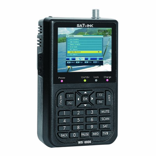 Best Prices! SATLink 3.5 WS-6906 DVB-S FTA Data Satellite Signal Finder Meter