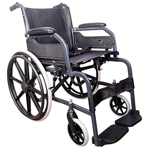 KHL Wheelchair With Mag Wheels - Diamond Black