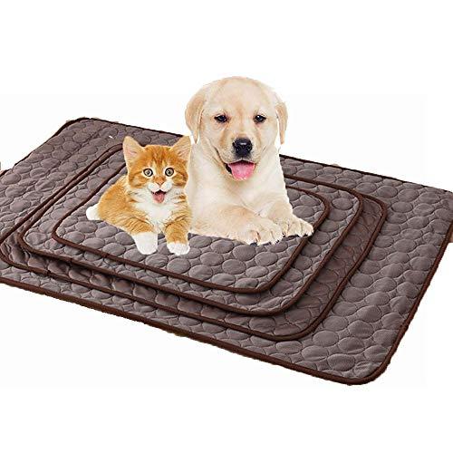 Skyout Kühlmatte für Hunde,Ice Silk Material weich und leicht Cool Mat Sommer-Schlafsofa Cool bleiben Premium Kühlmatte für Hunde für kleine mittelgroße und große Hunde