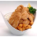 Tampa Maid Diptn Dusted Breaded Grouper Tender, 2 Pound -- 6 per case.