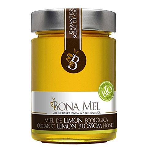100% roher Bio Zitronen-Honig, reine Imkerabfüllung aus Spanien, nur eigene Bienen