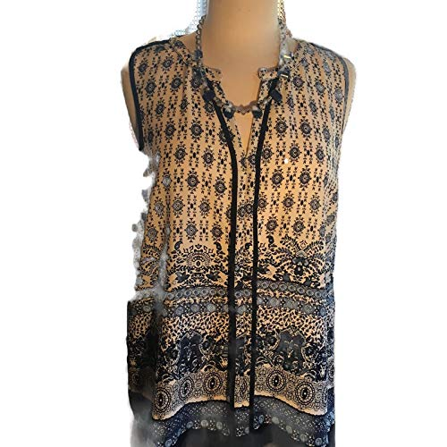 Custom Couture XL Bombing free shipping blue and white with willow print Brand Cheap Sale Venue blouse shades