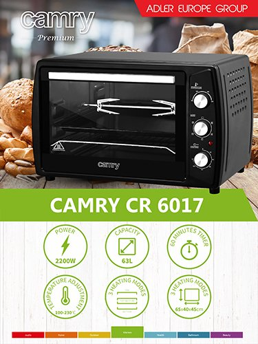 Camry camry_CR 6017