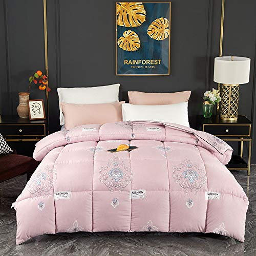 DAPAIZI Bedding Soft and Hypoallergenic Duvet,Box Stitched Down Alternative Duvet. (BZ-7,180 * 220CM (3KG))