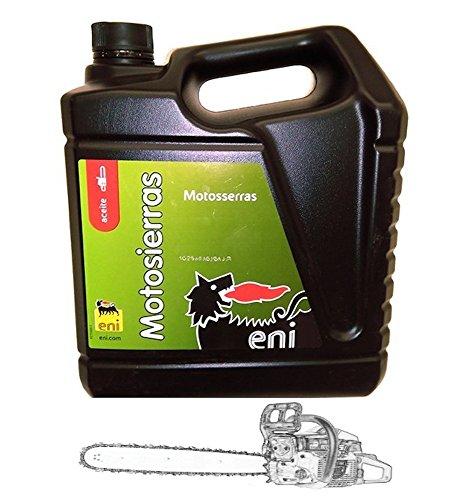 Aceite Eni - Agip Para Motosierras. Cadenas 5L. ( 40 - 50 )