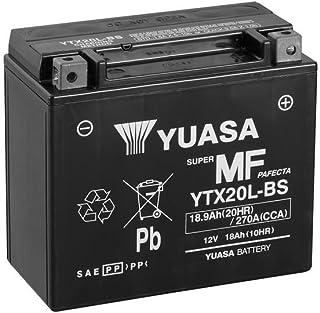Batería Yuasa ytx20l de BS, 12V/18Ah (Dimensiones: 175x 87x 155) para Yamaha XV1600a Wild Star Diseño Año 1999