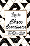 Leon's Marble Chaos Coordinator: Weekly And Daily Task Planner | Daily Work Task Checklist | Lovely Personalised Name Journal | To Do List to, Leon personalized notebook gift