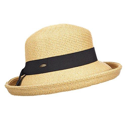 SCALA Geflochtender Hut für Damen Toast