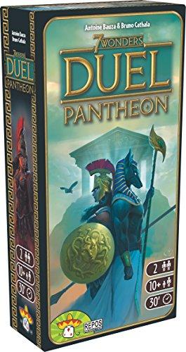 7 Wonders Duel - Extensiones Pantheon - Asmodee - Juego de Mesa - 2 Jugadores