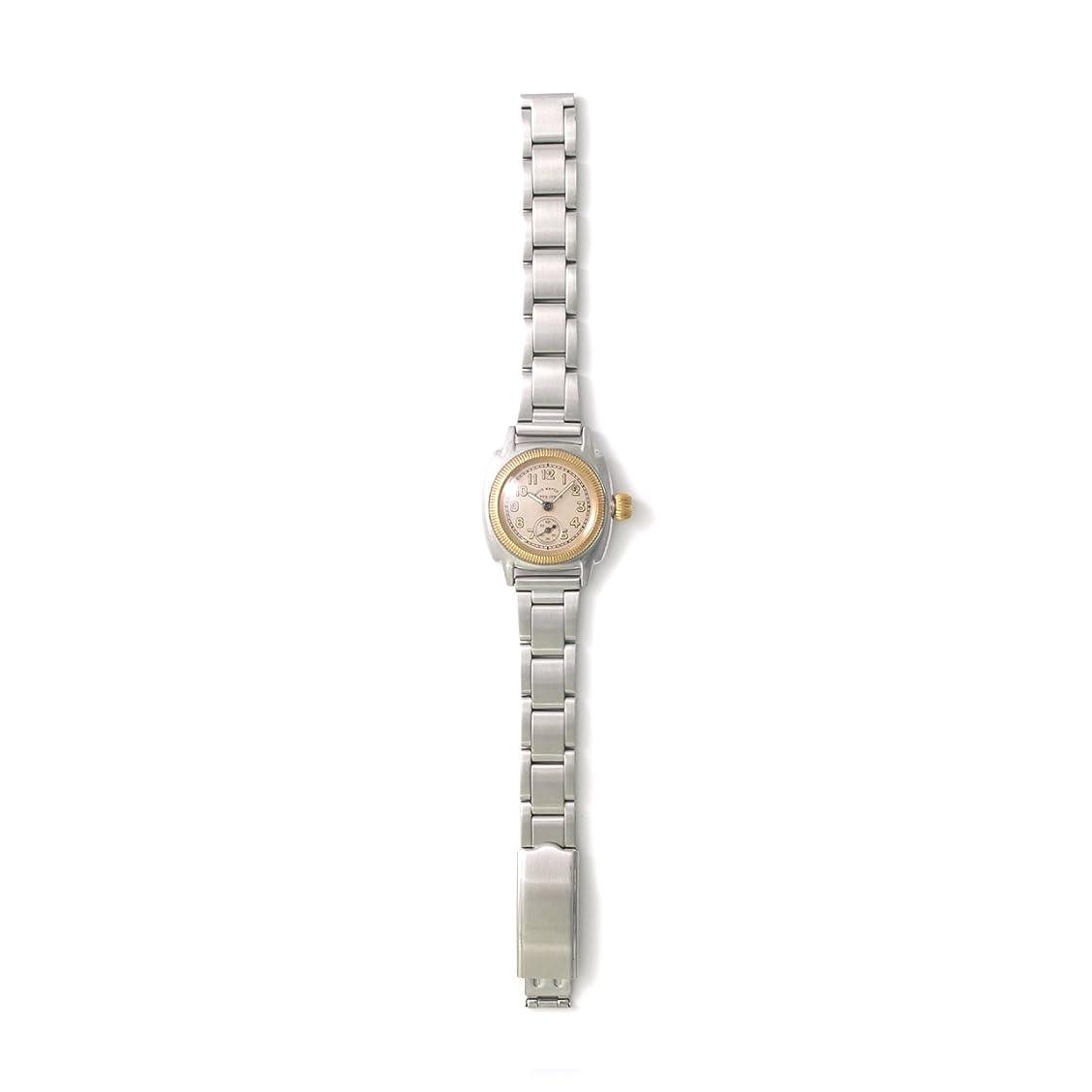 構造ポルトガル語高度な[ヴァーグウォッチカンパニー] VAGUE WATCH Co. 腕時計 COUSSIN Early Stainless Roll Belt クッションアーリーステンレス CO-S-008-SR レディース